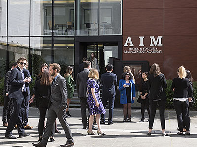 AIM is a hotel and tourism management school ideally located in Paris