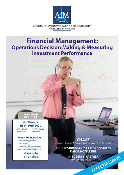 Financial Management: Operations Decision Making & Measuring Investment Performance