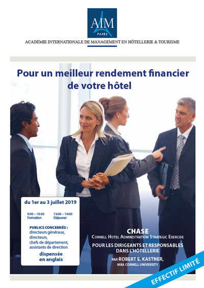 Professional Studies Certificate Financial Management at AIM Paris