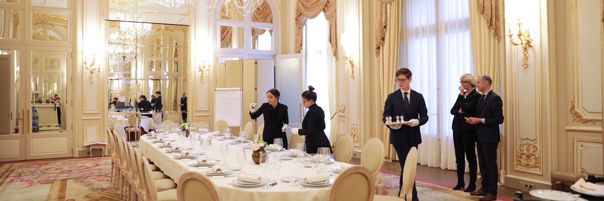 The Art de la Table in the heart of The Ritz Paris