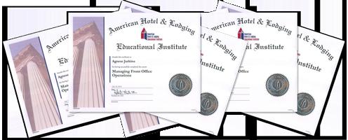 AHLEI Certificates