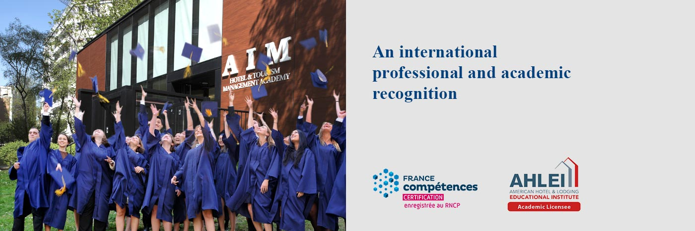 An international professional and academic recognition