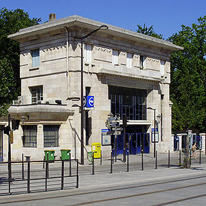 Cité Universitaire train station – RER B