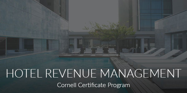 Hotel Revenue Management de l'Université Cornell via eCornell