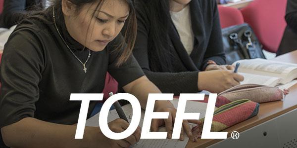 Le test TOEFL fait connaître au début des cours du programme le niveau exact de chaque étudiant